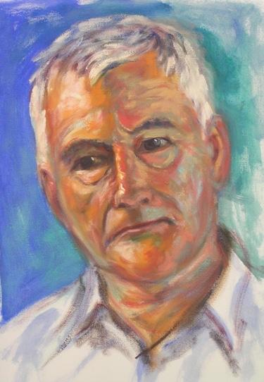 A portrait of a fellow artist
