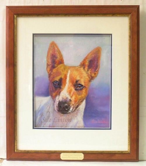 The framed portrait of Jack