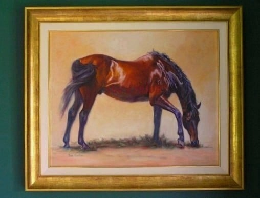 The framed portrait of Rio