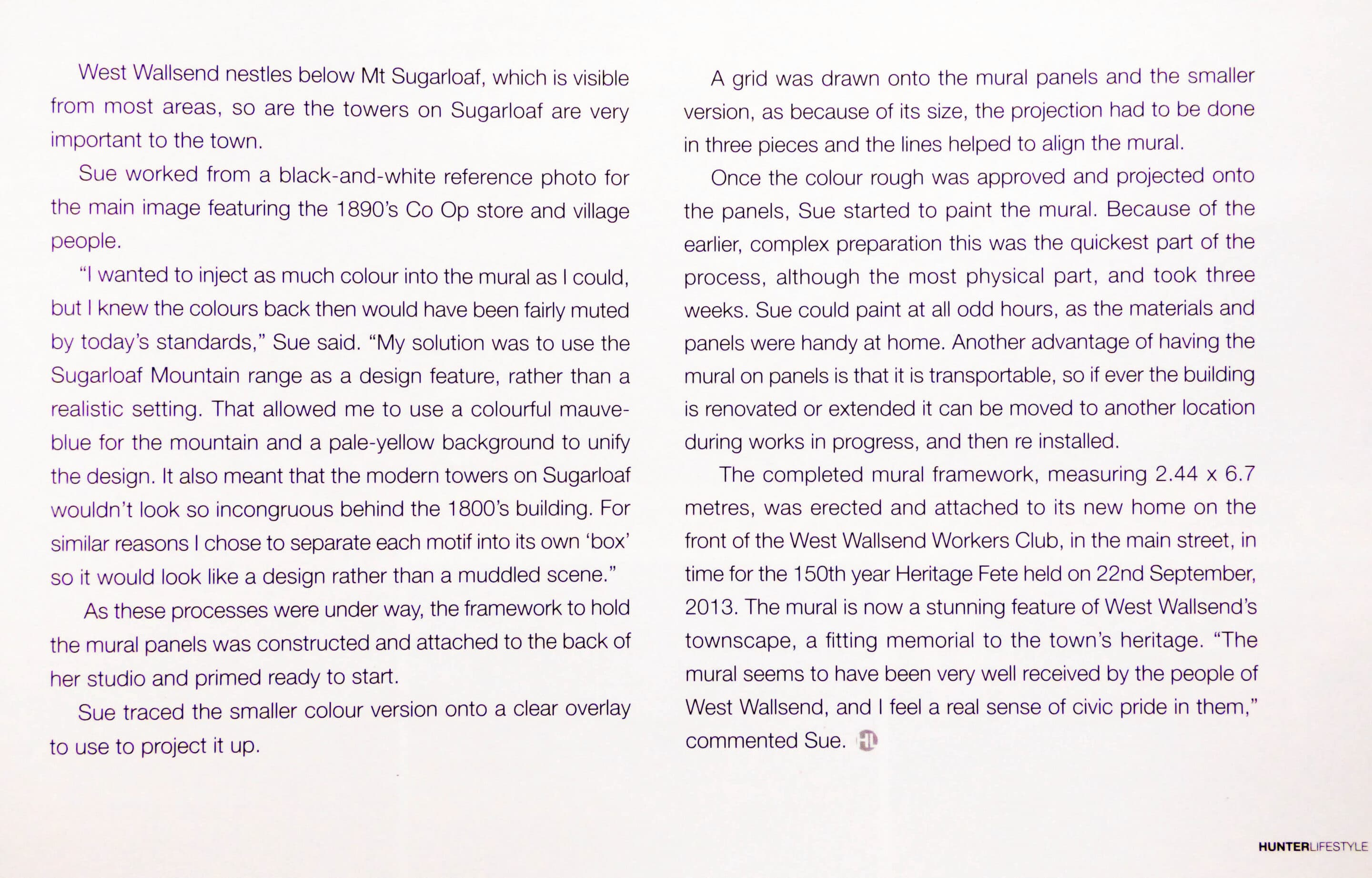 Here is a more readable text for pages 2 + 3.