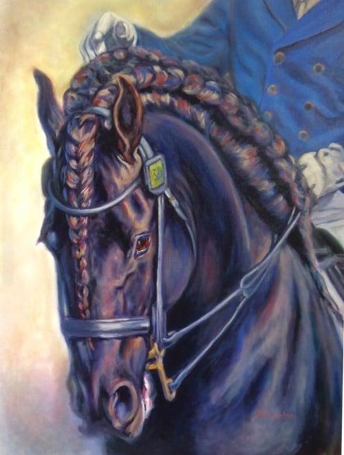 A closeup of Django