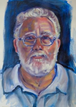 Larry a 2.30hr practise portrait from a model